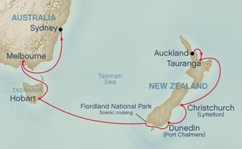 Cruise To Australia And New Zealand JDoubleUnet - Cruises to new zealand